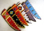 BEADED KNIFE SHEATHS