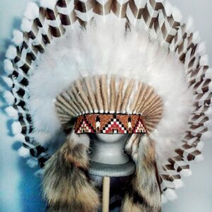 FEATHER WAR BONNETS